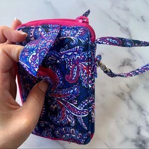 Vera Bradley Bags - Vera Bradley Purple Pink Wristlet Wallet New!